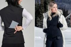 Cette veste chauffante et rechargeable québécoise vous tiendra au chaud cet hiver
