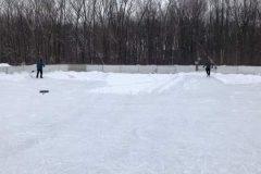 L'état des patinoires extérieures critiqué à L'Île-des-Sœurs