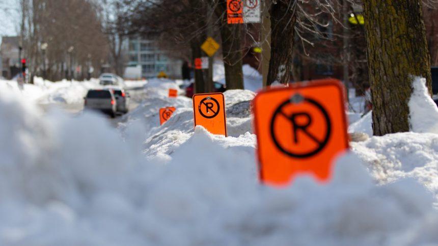 Montréal : la troisième opération de chargement de la neige dès ce soir