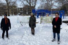 Réaménagement du pôle famille au parc La Fontaine