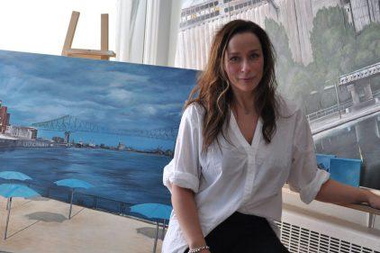 Mettre en valeur l'architecture de Montréal à travers la peinture