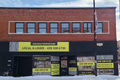 Un grand local de la rue Ontario vacant depuis longtemps