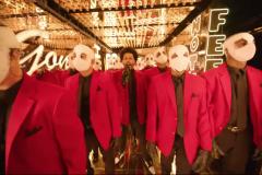 The Weeknd éblouissant à la mi-temps du Super Bowl