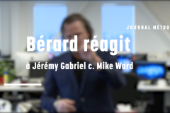 Bérard réagit à Jérémy Gabriel c. Mike Ward