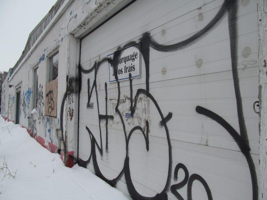 Zone rouge: éclosions de graffitis en temps de Covid-19
