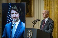 Une première rencontre entre Trudeau et Biden