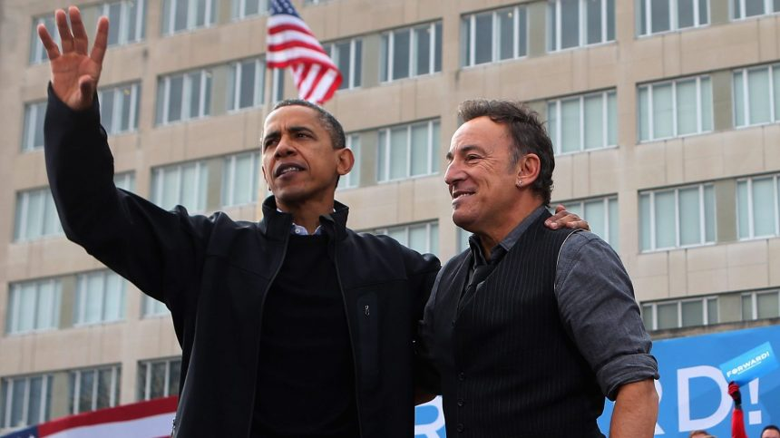 «Renegades: Born in the USA», le podcast avec Obama et Springsteen sur Spotify