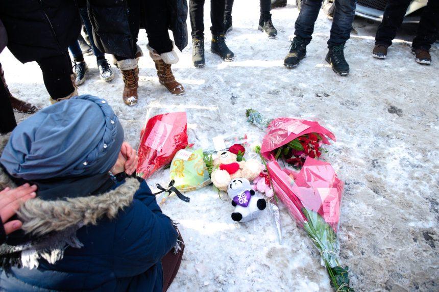 Fusillade à Saint-Léonard: un rassemblement pour la victime