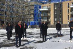 Outremont: coup d'envoi pour la construction de 48 logements sociaux