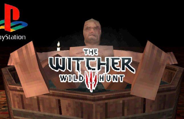 Et si The Witcher 3 était disponible sur PS1