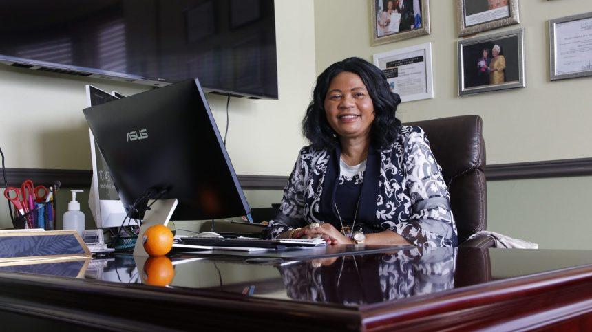 La volonté de changer le monde de Régine Alende Tshombokongo