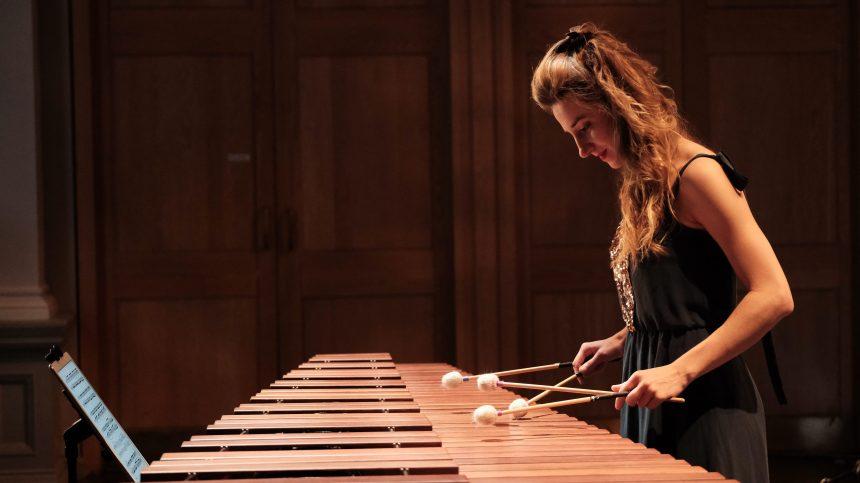 Krystina Marcoux: marimba et arts du spectacle