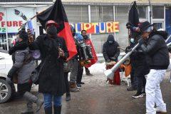 Manifestation à Saint-Michel pour soutenir la démocratie en Haïti