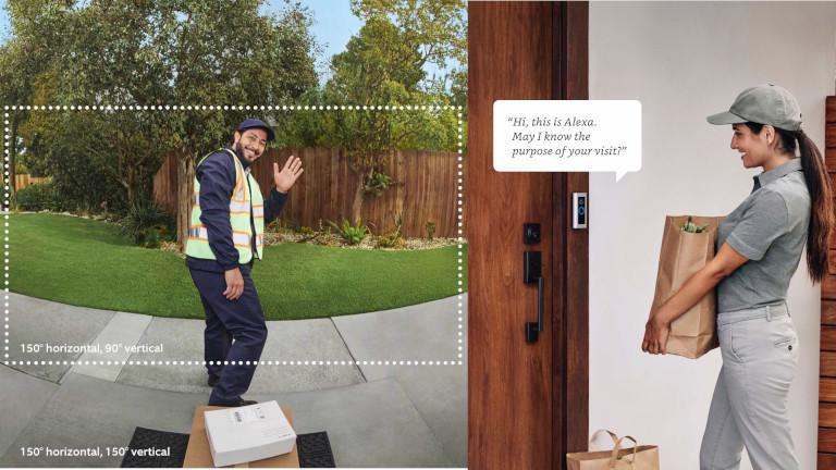 Ring Video Doorbell Pro 2 Alexa assistant vocal