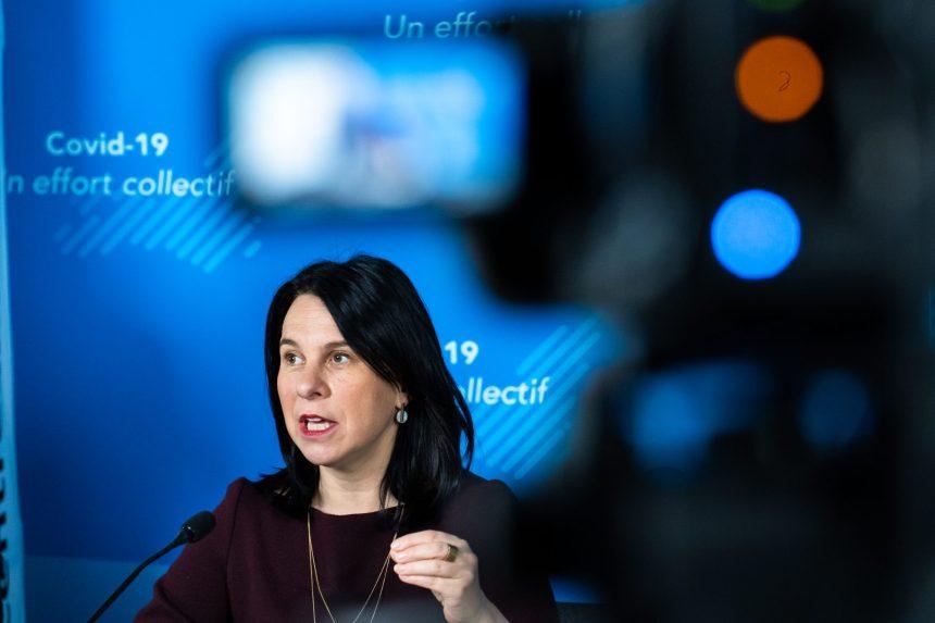 Budget: Valérie Plante dévoile sa liste d'épicerie pour Québec