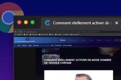 Comment activer le mode sombre de Google Chrome sur ordinateur