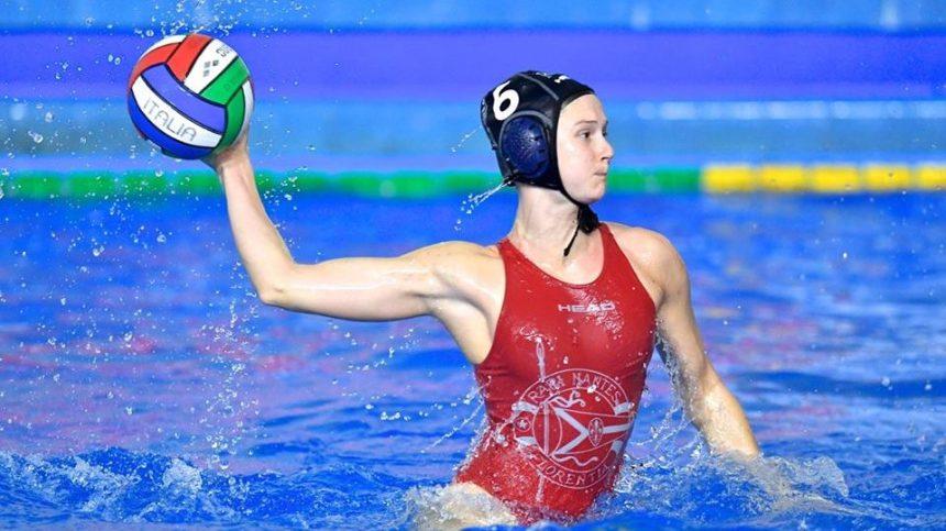 Axelle Crevier: le water-polo dans la peau