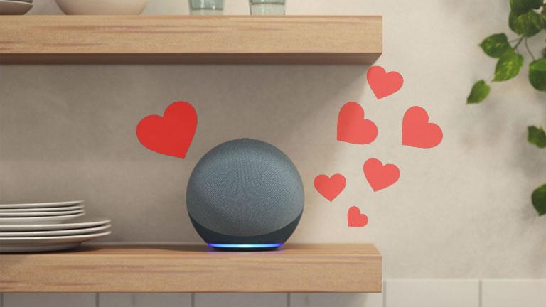 commandes Alexa spécial saint-valentin