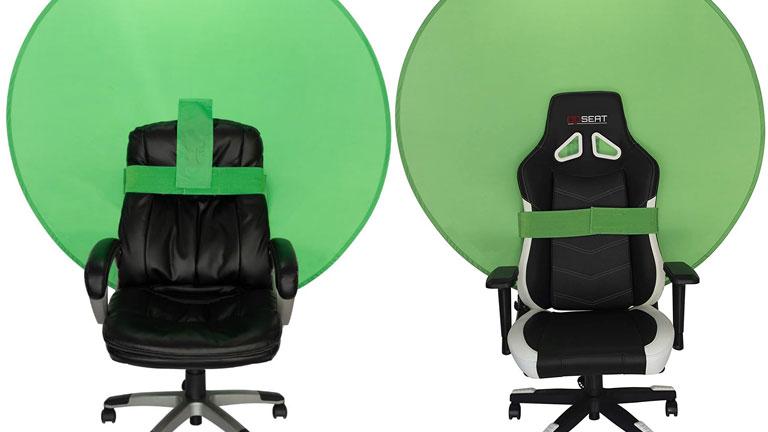 fond vert webaround facilement attachable chaises bureau diverses