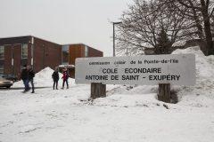 Des cas de variants détectés à l'école secondaire Antoine-de-Saint-Exupéry