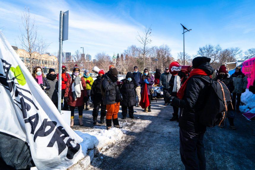 Manifestation pour des logements sociaux dans le Sud-Ouest