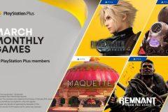 PlayStation Plus : les nouveautés de mars 2021