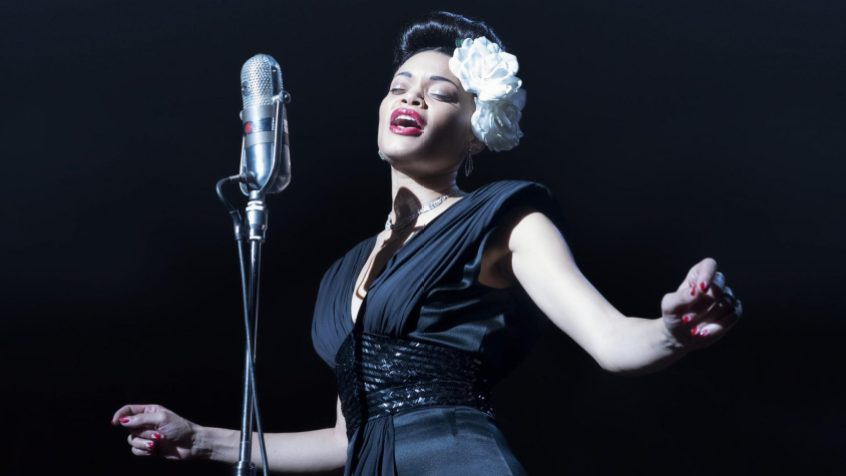 Andra Day dans The United States vs. Billie Holliday