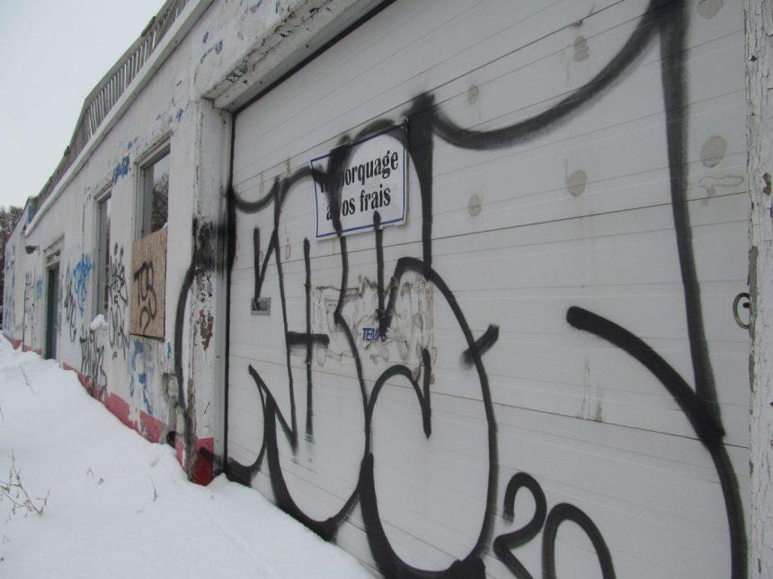 Moins de graffitis effacés dans RDP-PAT pendant la pandémie