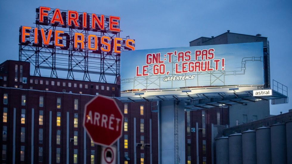 Greenpeace GNL Québec