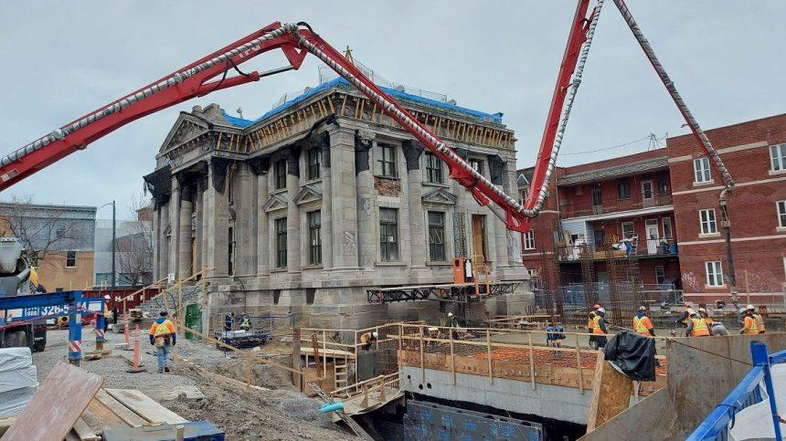 Québec ne s'oppose pas aux travaux à la bibliothèque Maisonneuve