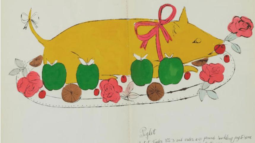 Et si vous vous offriez un livre de recettes signé Andy Warhol ?
