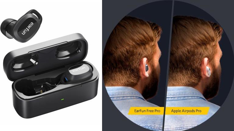 EarFun Free Pro petits écouteurs suppression bruit ambiant