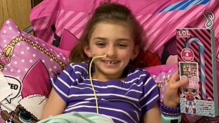 Trouble neurologique: pas de répit pour Ella