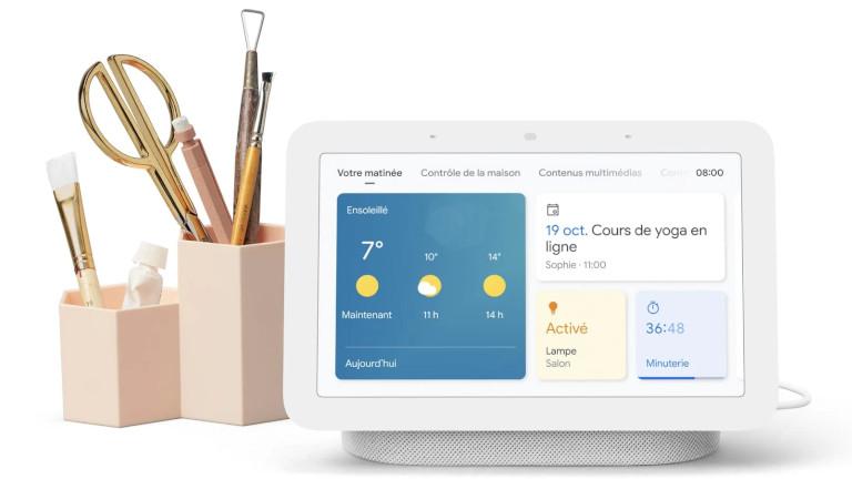 Google Nest Hub 2e génération écran