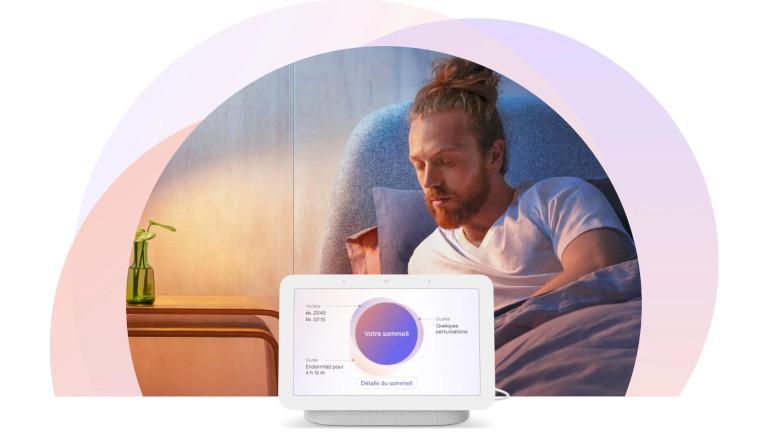 Google Nest Hub 2e génération sommeil