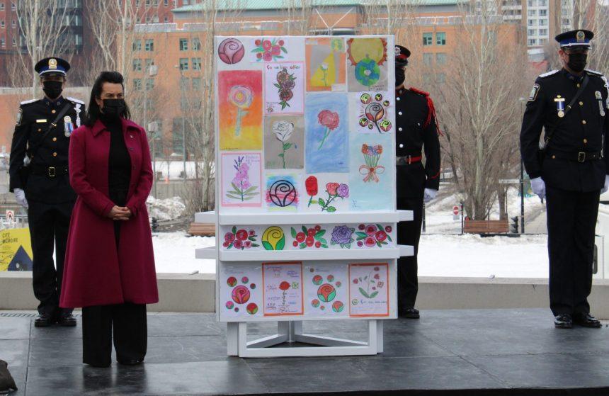 Montréal rend un vibrant hommage aux victimes de la COVID-19