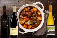 Une recette qui plaira à toute la famille et des vins qui feront plaisir aux parents!
