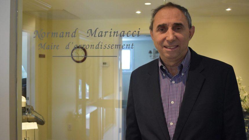 Normand Marinacci témoigne devant la Commission municipale