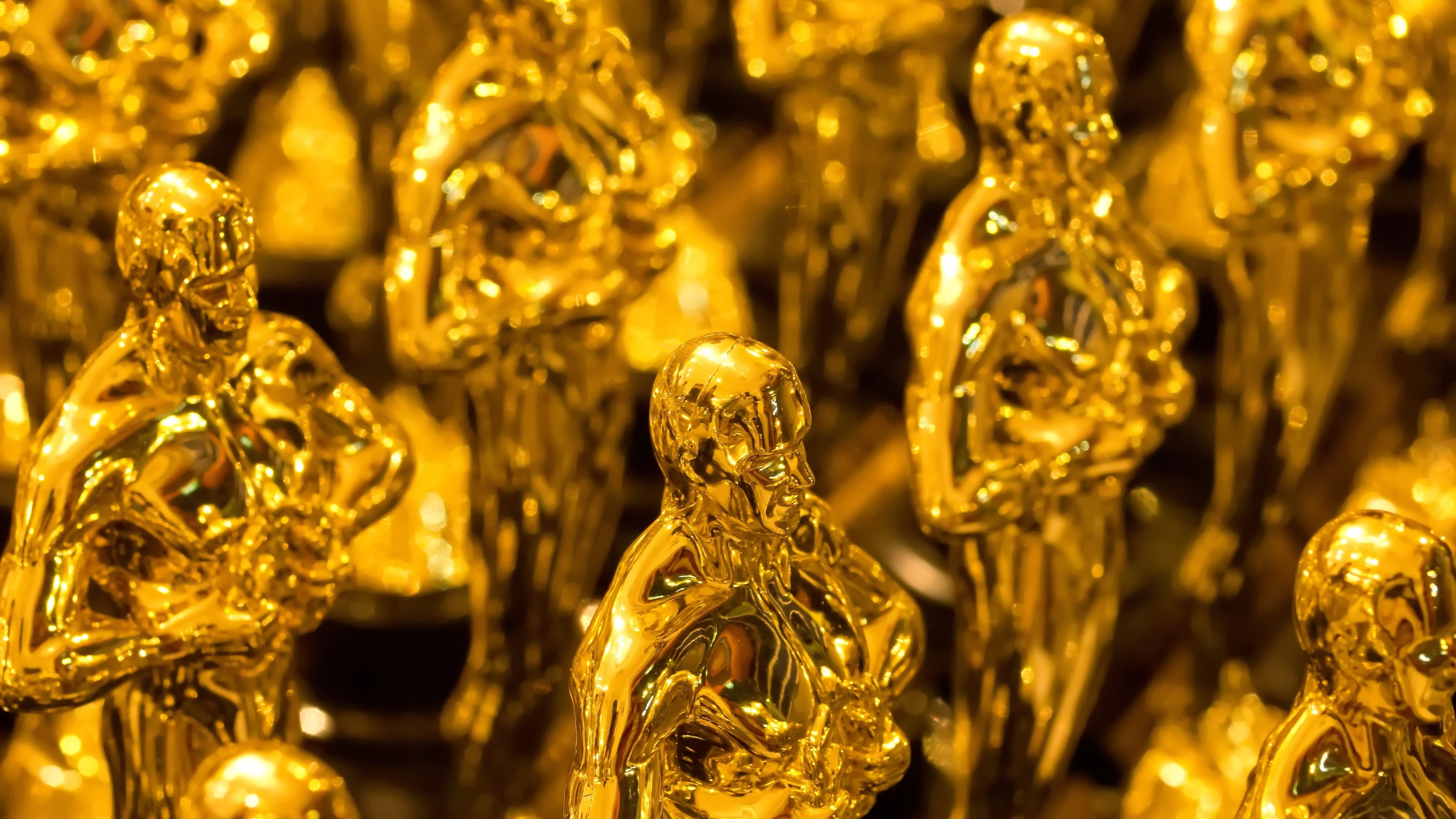 Des statuettes de la cérémonie des Oscars