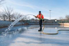 Les patinoires de Saint-Laurent traitées aux petits oignons