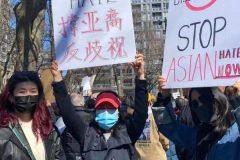 Mobilisation contre le racisme anti-asiatique à Montréal