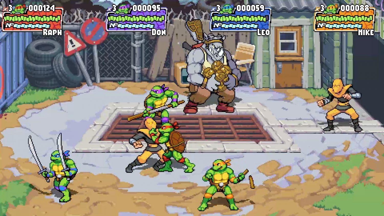 Teenage Mutant Ninja Turtle Shredder's Revenge