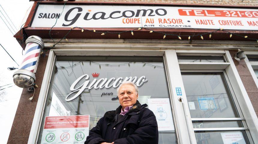 Giacomo: un barbier indémodable depuis 60 ans
