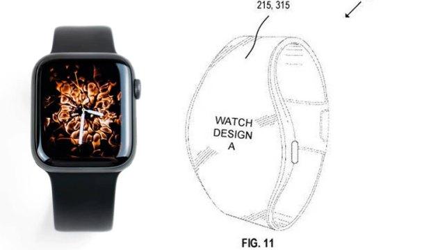 comparaison apple watch nouveau modèle croquis brevet