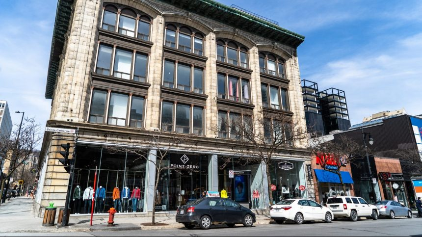 Un projet privé pour redévelopper un bâtiment commercial de la rue Sainte-Catherine
