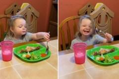 On a une future amatrice de sauce épicée dans la place!