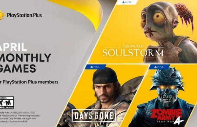 PlayStation Plus : les gratuités d'avril 2021