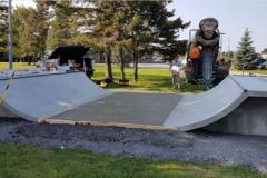 Le skate arrive au parc de la Fontaine à L'Île-des-Sœurs