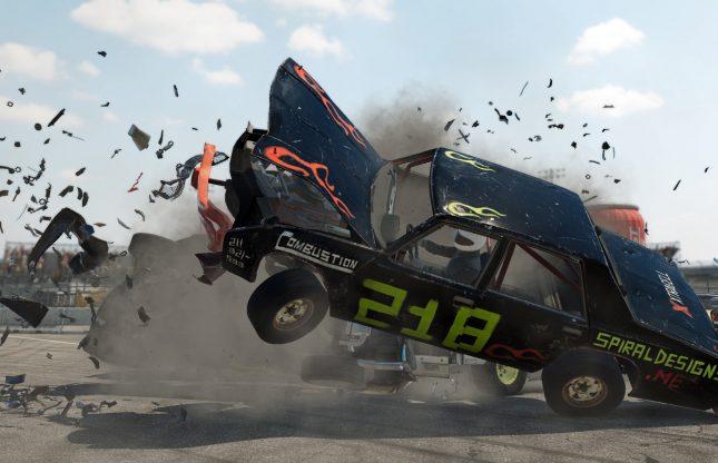 Wreckfest : une mise à niveau payante sur PlayStation 5