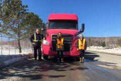 Plusieurs milliers d'emplois à pourvoir chez les camionneurs